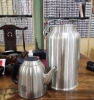 Malaysia Pewter tea caddy super big马来西亚锡罐マレーシア97%の純錫缶말레이시아 97 %의 순수 주석 캔
