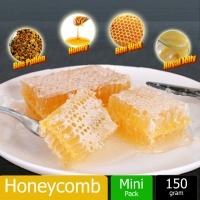 Sarang Madu Lebah / Honeycomb Natural Bee Farm Production Hive honey nest (150g)
