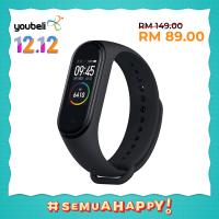 [12.12 Exclusive] Xiaomi Mi Band 4 - Original Mi Malaysia Warranty