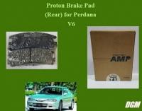 Proton Brake Pad (Rear) for Perdana Old/ Perdana V6