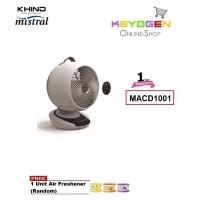 KHIND Mistral Oscillation Fan MACD1001 (MAIRONE) - 1 Year Warranty FREE 1 Unit Air Freshener (Random)