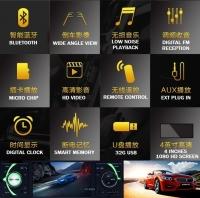 Agogo 4.1 Inch Single Din MP5 With FM Bluetooth Car Audio Video Multimedia Device Multi Function 4 Inch HD 1080p Screen Bluetooth,MP5,FM,Car Reversing Image Multimedia