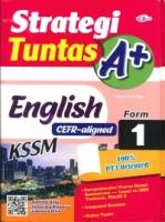 (CEMERLANG PUBLICATIONS SDN BHD)STRATEGI TUNTAS A+ENGLISH(CEFR-ALIGNED)FORM 1 KSSM 2020