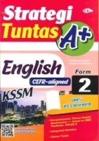 (CEMERLANG PUBLICATIONS SDN BHD)STRATEGI TUNTAS A+ENGLISH(CEFR-ALIGNED)FORM 2 KSSM 2020