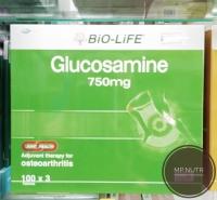 Bio Life Glucosamine 750mg 100's x 3 bottles