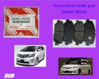 Toyota front brake pad for Estima ACR50 GSR50 Alphard ANH20 GGH20 - 04465-28520