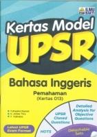 (PENERBIT ILMU BAKTI)BAHASA INGGERIS-PEMAHAMAN(KERTAS 013)UPSR 2020