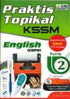 (PENERBIT ILMU BAKTI)PRAKTIK TOPIKAL ENGLISH(CEFR)FORM 2 KSSM 2020