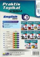 (PENERBIT ILMU BAKTI)PRAKTIK TOPIKAL ENGLISH(CEFR)FORM 3 KSSM 2020