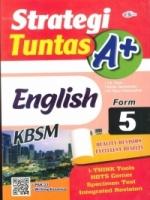 (CEMERLANG PUBLICATIONS SDN BHD)STRATEGI TUNTAS A+ENGLISH(CEFR-ALIGNED)FORM 5 KBSM 2020