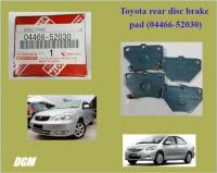 Toyota rear disc brake pad for Vios Altis 2003-2007y - 04466-52030