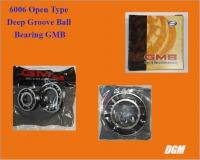 6006 Open Type Deep Groove Ball Bearing GMB