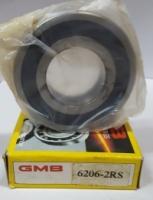 6206 Open Type Deep Groove Ball Bearing GMB
