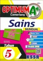 (CEMERLANG PUBLICATIONS SDN BHD)OPTIMUM A+SAINS(BILINGUAL)TAHUN 5 KSSR 2020