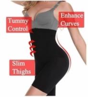 Weight loss female fat burning high waist underwear shaping panties seamless tummy control body shaper