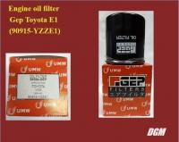Engine oil filter Gep Toyota E1 (90915-YZZE1)