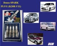 4pcs Denso SPARK PLUG (K20R-U11) for Toyota / Perodua
