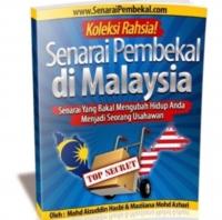 TOP SECRET SENARAI PEMBEKAL DI MALAYSIA