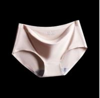 Ready stockWomen Fashion One Piece Seamless Ice Silk Panties Girls Clothing Underwear Panty