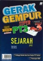 (SASBADI SDN BHD)GERAK GEMPUR SUPER SEJARAH(21)TINGKATAN 3 PT3 2020