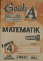 (CEMERLANG PUBLICATIONS SDN BHD)GRAD A MATEMATIK KERTAS 2 TAHUN 4 KSSR 2020