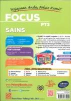 (PELANGI)FOCUS SAINS TINGKATAN 1.2.3 PT3 KSSM 2020