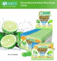 Hurix's Gamat Brand & Madu Plus Drops (Lime)