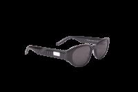Puma Sunglasses Model PU0228S-001 Black-Black-Smoke