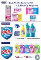 Magiclean Wipe and Mop Set + Refill 40's dry + 8's wet cleaning sheet combo Japan Best selling