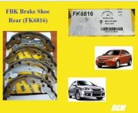 FBK Brake Shoe Rear (FK6816) for Proton Gen 2 (2004y) / Persona (2007-2016y)