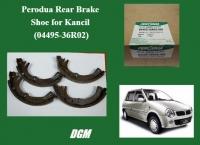 Perodua Rear Brake Shoe for Kancil (04495-36R02)