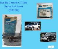 Bendix General CT Disc Brake Pad Front (DB1280) for Isuzu Trooper Bighorn 3.1 V6 UBS25