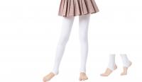 Fashion Quality Leggings Sheer White (Stirrup)