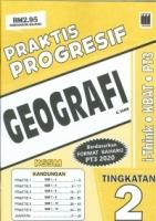 (PUSTAKA VISION)PRAKTIS PROGRESIF GEOGRAFI TINGKATAN 2 PT3 KSSM 2020