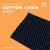 FABRIC FANATICS Cotton Linen Fabric