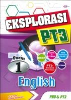 (CEMERLANG PUBLICATIONS SDN BHD)EKSPLORASI ENGLISH FORM 1 PT3 2020