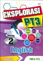 (CEMERLANG PUBLICATIONS SDN BHD)EKSPLORASI ENGLISH FORM 2 PT3 2020