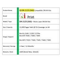 Qi Print Bro DR2125 HL2140 2150 DRUM Compatible * NEW SEALED *