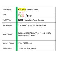 Qi Print FUJI Xerox P205 215 M205 215 Toner Compatible * NEW SEALED *
