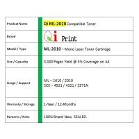 Qi Print ML-2010 ML2010 1610 P3124 Toner Compatible * NEW SEALED *