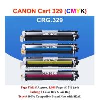 Qi Canon CRG 329 Color Toner LBP 7018 7518 Compatible Color Toner Cartridge - CMYK