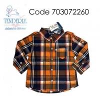 [0~18 MTHS] TENDERLY LONG SLEEVE SHIRT - WOVEN ( 703072260 )