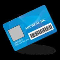 Customized Membership / ID Card PVC Full Printing