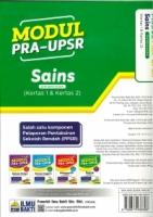 (PENERBIT ILMU BAKTI)MODUL PRA-UPSR SAINS(DWIBAHASA)(KERTAS 1&KERTAS 2)2020