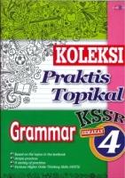 (CEMERLANG PUBLICATIONS SDN BHD)KOLEKSI PRAKTIS TOPIKAL GRAMMAR YEAR 4 KSSR 2020