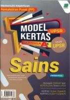 (SASBADI SDN BHD)MODEL KERTAS FORMULA A+SAINS(DWIBAHASA)CALON UPSR 2020