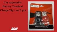 Car Adjustable Battery Terminal Clamp Clip 1 set 2 pcs (big head) NS60s NS60LS NS70 NS70L DIN55 55D23L