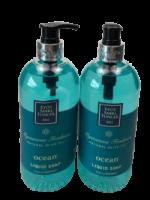 Eyup Sabri Tuncer Natural Olive Oil Liquid Soap (Ocean) 500ml -set