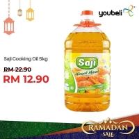 Saji Cooking Oil 5kg [KAUT SALE]