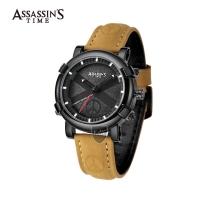Assassins Time PEACE Men Outdoor Sport Peace Japan Quartz Leather Water Resistant Designer Watches AT-S0002K2